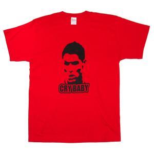 クリスティアーノ・ロナウド(C.ロナウド)Tシャツ(赤)【FOOTBALLER】|footballfan