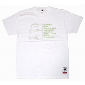 f.c.Thomas 「On the Pitch」 Tシャツ ホワイト|footballfan