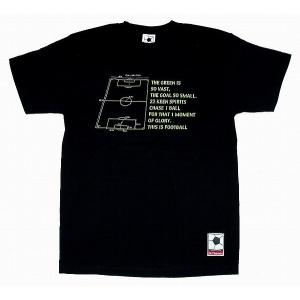 f.c.Thomas 「On the Pitch」 Tシャツ ブラック|footballfan