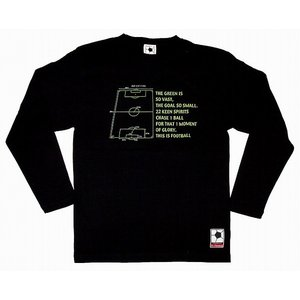 f.c.Thomas 「On the Pitch」 長袖Tシャツ ブラック|footballfan