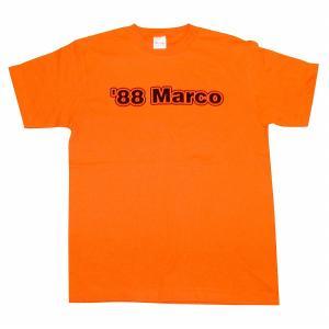 【Football Knowledge(フットボールナレッジ)】88Marco ファンバステン Tシャツ(オレンジ)|footballfan