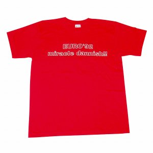 【Football Knowledge(フットボールナレッジ)】miracle dannish EURO92デンマーク Tシャツ|footballfan