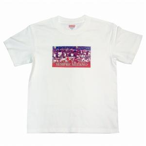 SEMPRE MILANO ACミラン Tシャツ(白)|footballfan