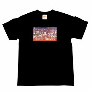 SEMPRE MILANO ACミラン Tシャツ(黒)|footballfan