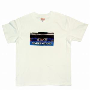 SEMPRE MILANO インテルミラノ Tシャツ(白)|footballfan