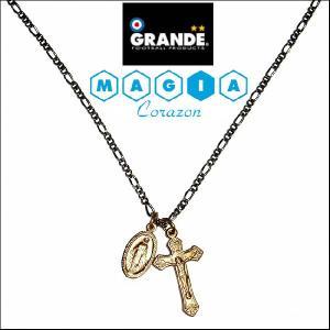 GRANDE MAGIA(マヒア) 『rosary』クロス ネックレス|footballfan