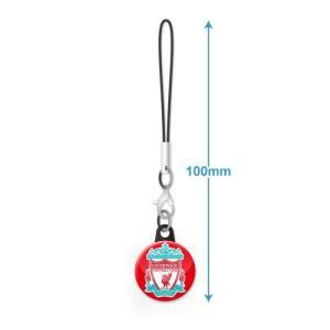 リバプールFC エンブレムバッジ携帯ストラップ|footballfan