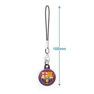 FCバルセロナ エンブレムバッジ携帯ストラップ|footballfan
