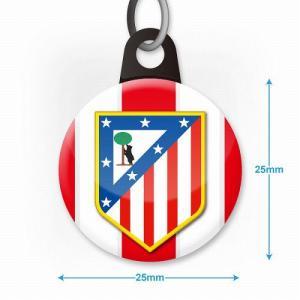 アトレティコマドリード エンブレムバッジ携帯ストラップ footballfan 03