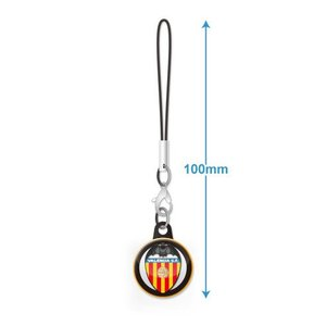 バレンシアCF エンブレムバッジ携帯ストラップ|footballfan