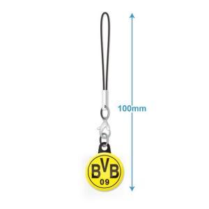 ドルトムント エンブレムバッジ携帯ストラップ|footballfan