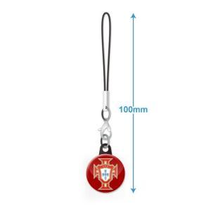 ポルトガル代表 エンブレムバッジ携帯ストラップ|footballfan