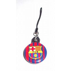FCバルセロナ バッジ携帯ストラップ〔HOME〕|footballfan