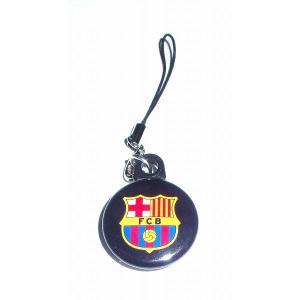FCバルセロナ バッジ携帯ストラップ〔AWAY〕|footballfan