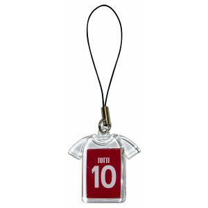トッティ(ASローマ 10)ユニフォーム携帯ストラップ|footballfan