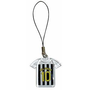 デルピエロ(ユベントス 10)ユニフォーム携帯ストラップ|footballfan