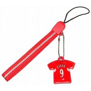 リバプール#9 シセ ユニフォーム携帯ストラップ|footballfan