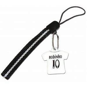 レアルマドリッド05/06 #10 ロビーニョ ユニフォーム携帯ストラップ|footballfan
