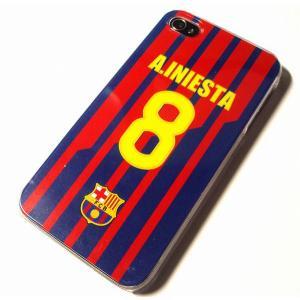 イニエスタ(FCバルセロナ 8)iPhoneケース〔HOME〕|footballfan