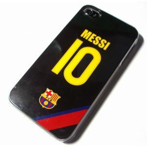 メッシ(FCバルセロナ 10)iPhoneケース〔AWAY〕|footballfan