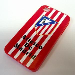 アトレティコマドリー iphone4/4sプラスティックカバー|footballfan