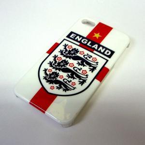 イングランド代表(セントジョージ) iphone4/4sプラスティックカバー|footballfan