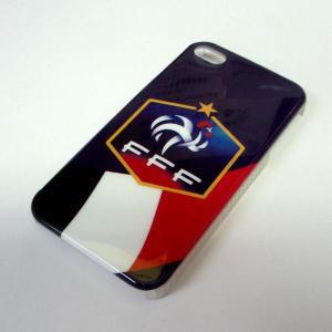 フランス代表 iphone4/4sプラスティックカバー|footballfan
