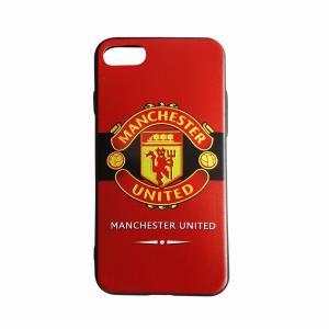 マンチェスターユナイテッド(赤×黒) iPhone7/8ケース|footballfan