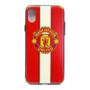 マンチェスターユナイテッド(赤×白) iPhoneX/Xsケース|footballfan