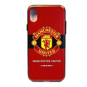 マンチェスターユナイテッド(赤×黒) iPhoneX/Xsケース|footballfan