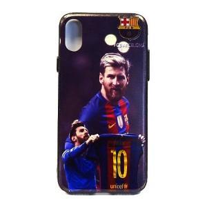 メッシ(FCバルセロナ) iPhoneX/Xsケース|footballfan