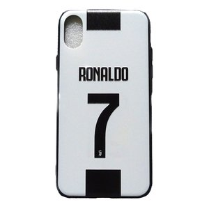 C.ロナウド(ユベントス)背番号 iPhoneX/Xsケース|footballfan