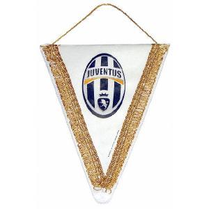 ユベントス(オフィシャル) ペナント S 三角形(ホワイト)|footballfan