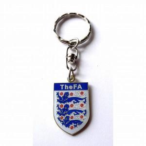 イングランド代表 エンブレムキーホルダー|footballfan