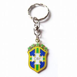 ブラジル代表 エンブレムキーホルダー|footballfan