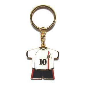 オーウェン(イングランド10) ユニフォーム キーホルダー(FRONT)|footballfan
