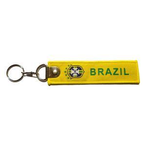 ブラジル代表 フライトタグキーホルダー〔kft028〕 footballfan