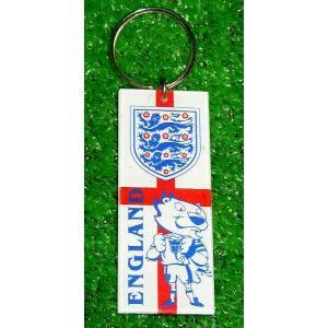 イングランド代表 プラスティックキーホルダー|footballfan