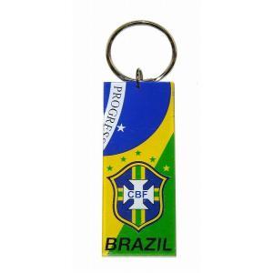 ブラジル代表 プラスティックキーホルダー|footballfan