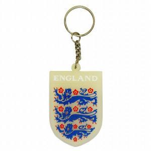 イングランド代表 ラバーキーホルダー |footballfan