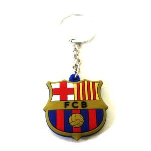 FCバルセロナ エンブレムラバーキーホルダー|footballfan