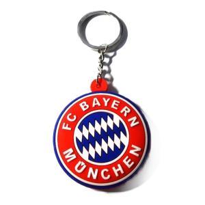 バイエルンミュンヘン エンブレムラバーキーホルダー|footballfan