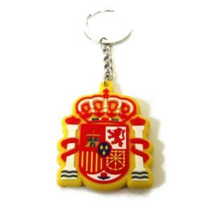 スペイン代表 エンブレムラバーキーホルダー|footballfan