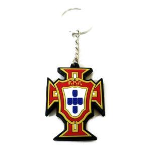 ポルトガル代表 エンブレムラバーキーホルダー|footballfan