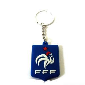 フランス代表 エンブレムラバーキーホルダー|footballfan