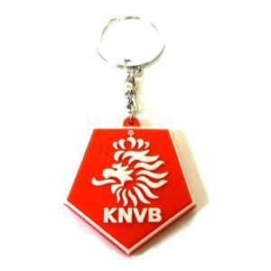オランダ代表 エンブレムラバーキーホルダー|footballfan