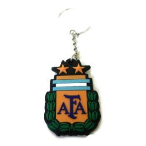 アルゼンチン代表 エンブレムラバーキーホルダー|footballfan
