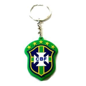 ブラジル代表 エンブレムラバーキーホルダー|footballfan