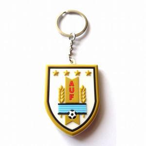 ウルグアイ代表 エンブレムラバーキーホルダー|footballfan