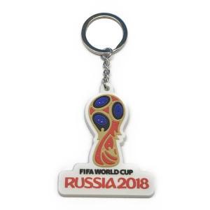 ロシア ワールドカップ 2018 エンブレムラバーキーホルダー|footballfan